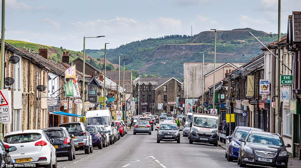 Treorchy High Street in Wales has been crowned High Street of the Year 2019, beating out 40 others
